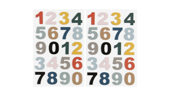 93295 multicoloredchipboardnumbers slider original