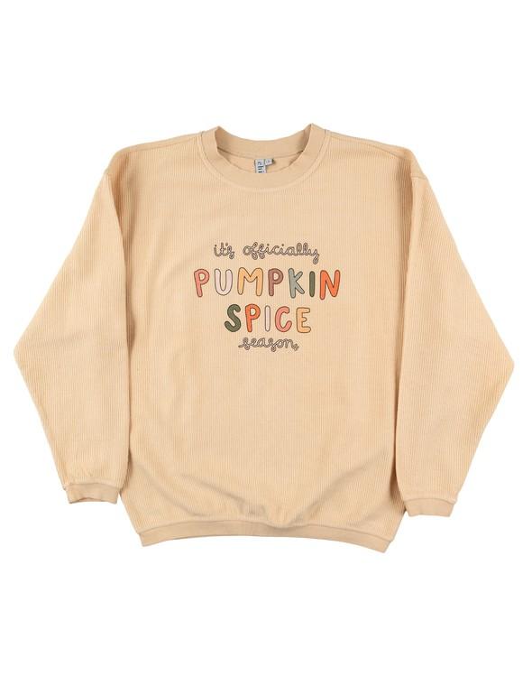 175412 pumpkinspiceseasoncordedsweatshirtnatural original
