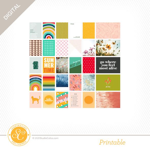 84509 sc digital full bloom journal cards a side preview original