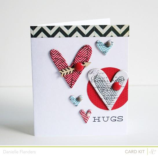 Hug card with sig
