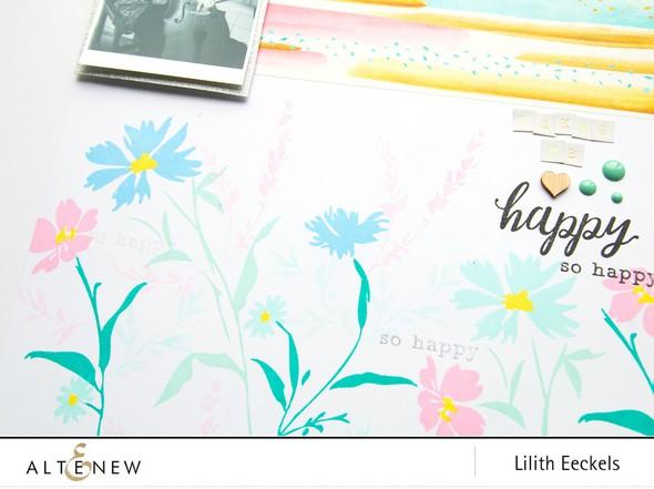 Altenew wildflowergarden .lilith5 original