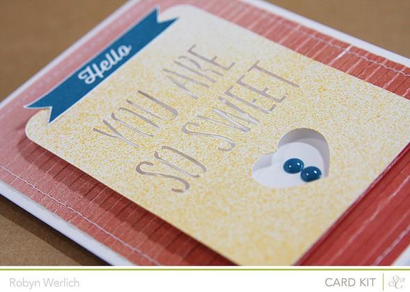 Rwerlich sweet card closeup