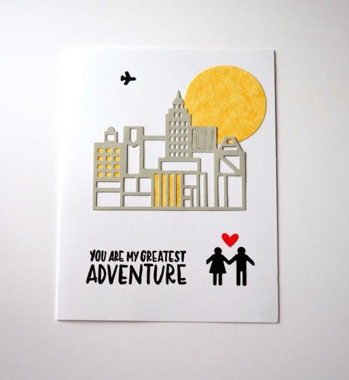 You are my greatest adventure card original