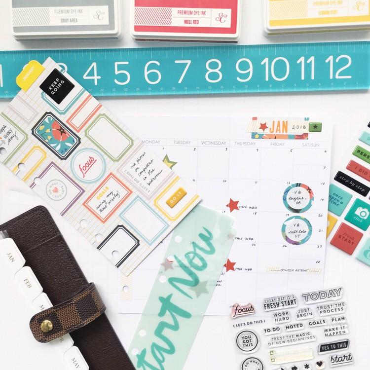 Styled desktop square