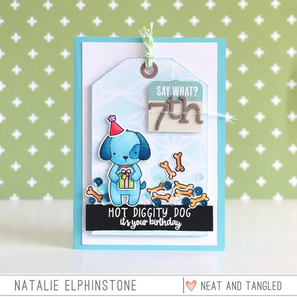 Hot diggity dog by natalie elphinstone original