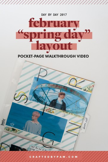 Spring day pin original