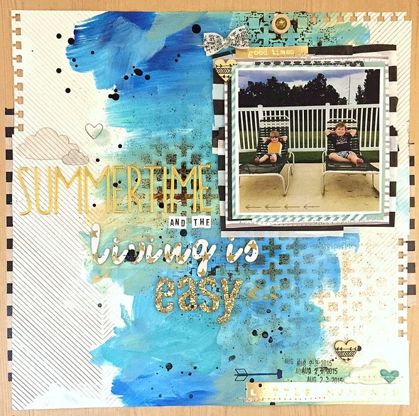 Summertime and the living is easy layout   ls original