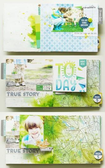 Easter mini album 1