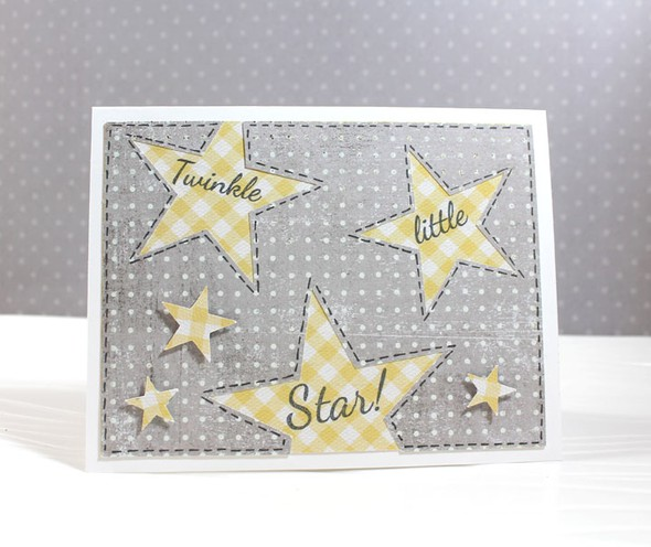 Star baby announcements front