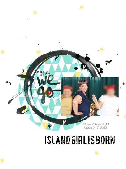 Island girl is born pic2