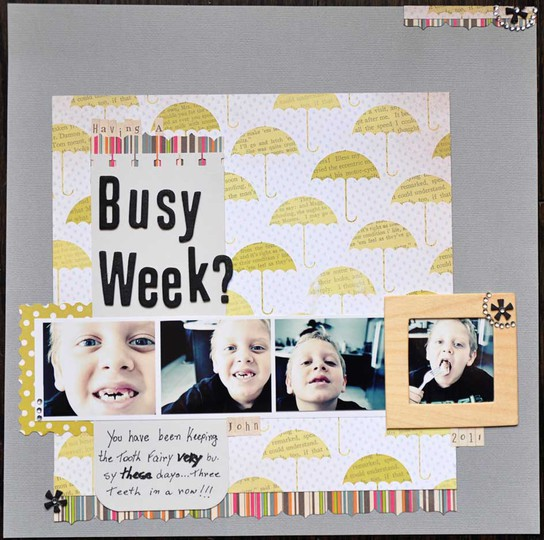Busy week web