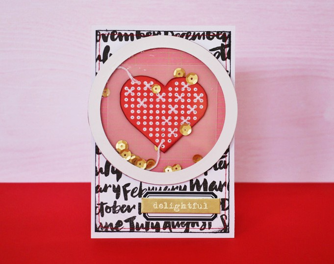 Delightful card