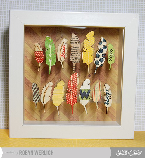 Feather frame