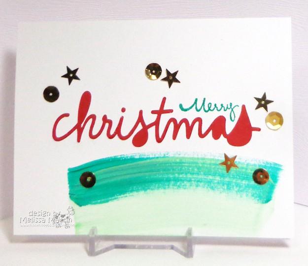 Msm's christmas die cut paint  mim dsc03000