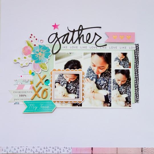 Gather layout feat yeti