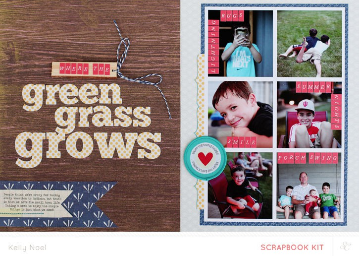 Where the green grass grows   studio calico bluegrass farm kit   kelly noel
