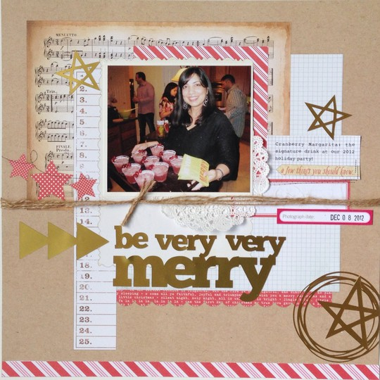 Be very very merry