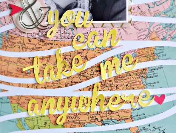 You can take me anywhere closeup