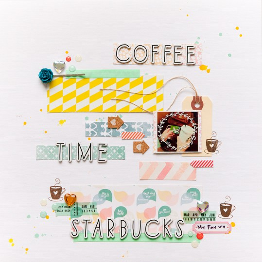 Coffee time starbucks by evelynpy