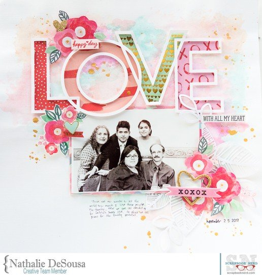 Sn love with all my heart nathalie desousa original
