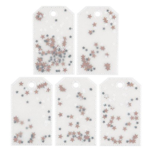 Picture of December Daily® 2021 Sequin Shaker Tags