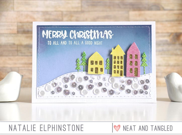 Merry christmas by natalie elphinstone original