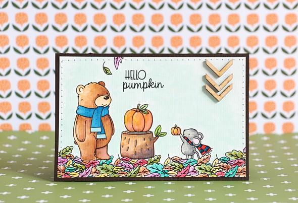 Hello pumpkin by natalie elphinstone original