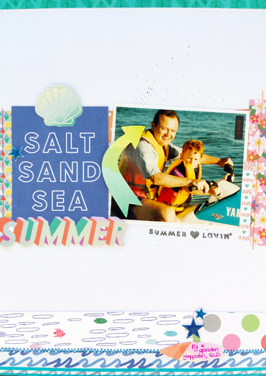 Sand salt sea summer original
