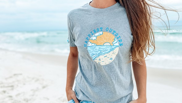 122009 happiest outside short sleeve tee women ash slider2 original