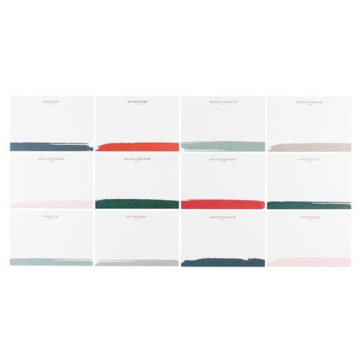Picture of December Daily® 2020 4x6 Journal Card Set
