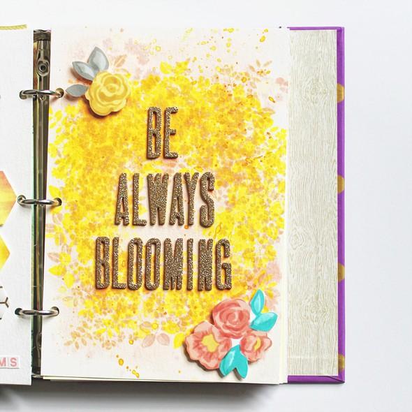 Art journal 7 blooming