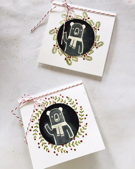Waldorf bear tags