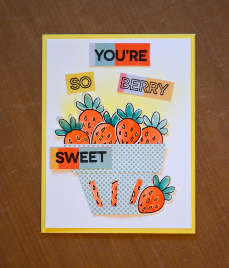 Youre so berry sweet card original