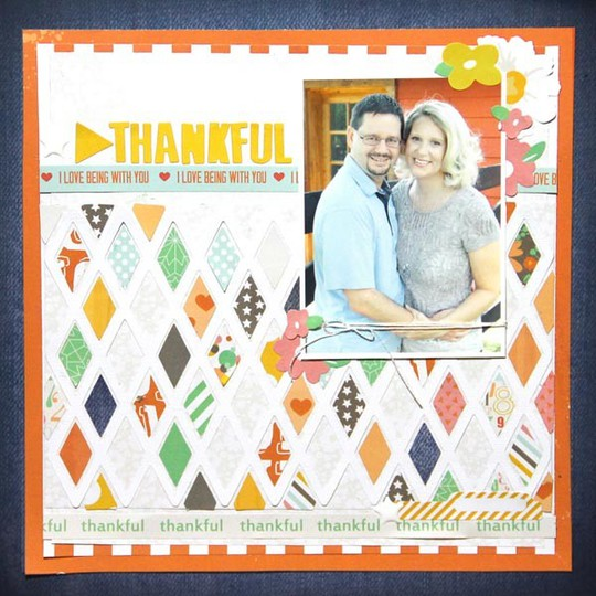 Pam callaghan chickaniddy crafts thankful layout