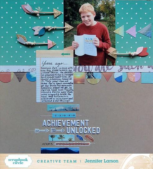 Achievement unlocked by jennifer larson ed original