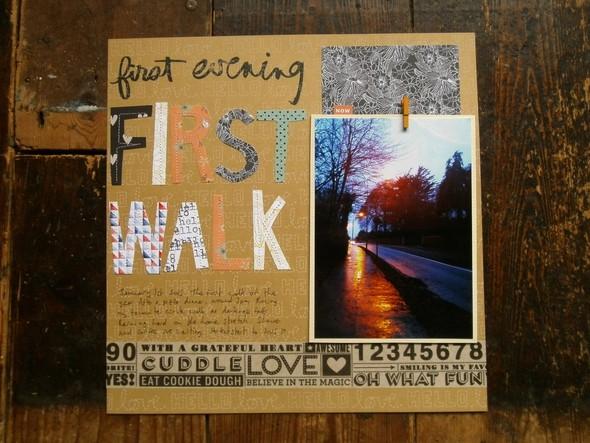 First walk1