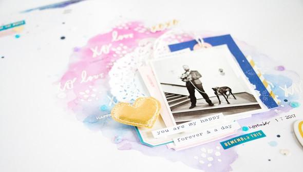 Lovestory scatteredconfetti scrapbooking layout paperlesspages marketing2 original