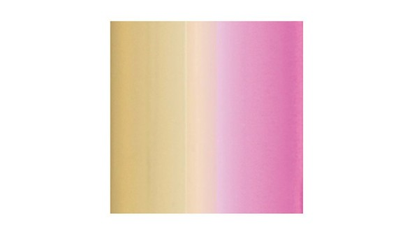 Reactive foil   pink   gold ombre original