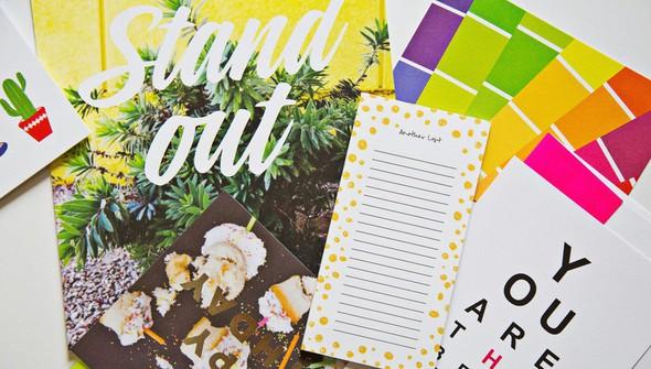 August happy mail  7 original