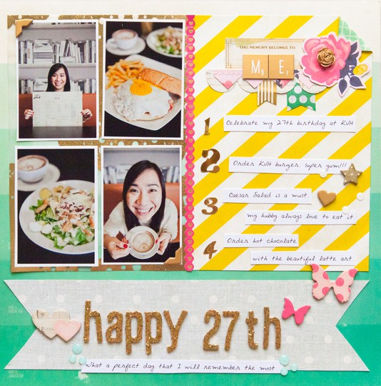 Happy 27th by evelynpy