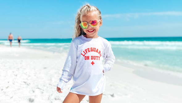 152592  lifeguard on duty long sleeve sun shirt kids white slider1 original