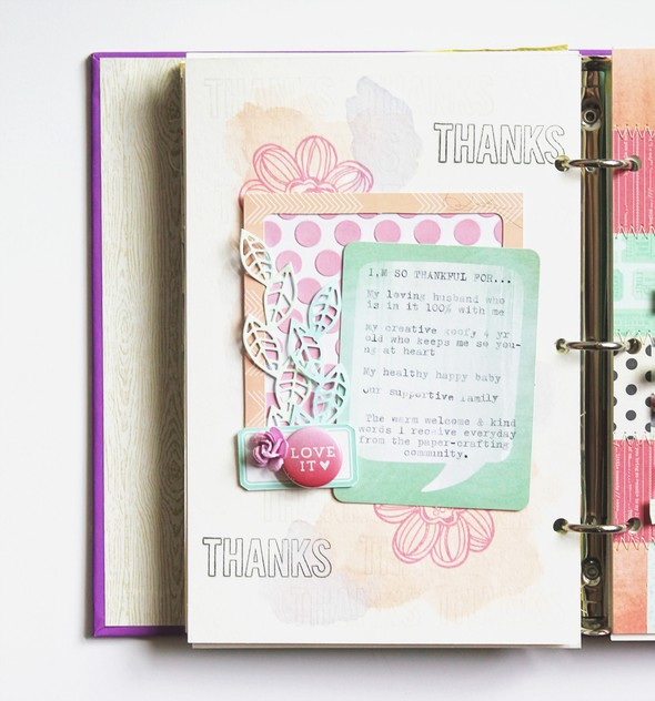 Art journal 6 thankful full