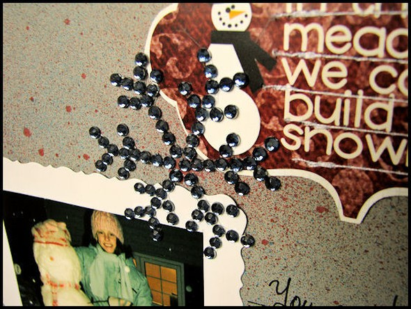 Snow family closeup2