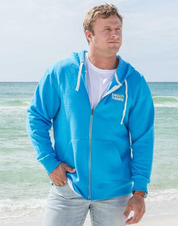 113693 beach happy embroidered full zip fleece 30a blue men slider 1 original