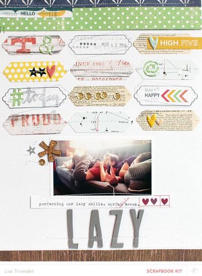 Lazy   lisatruesdell