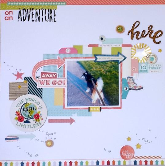 On an adventure 57 original