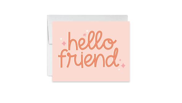 Hellofriendcard slider original