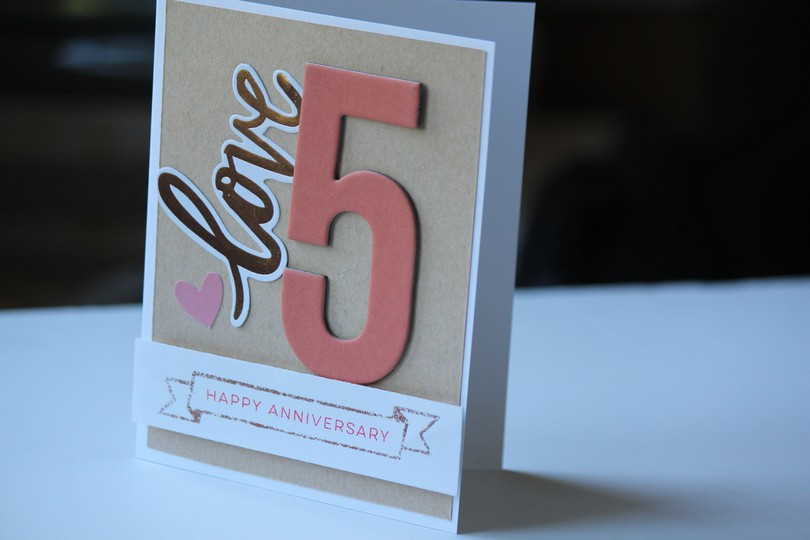 Anniversary card original