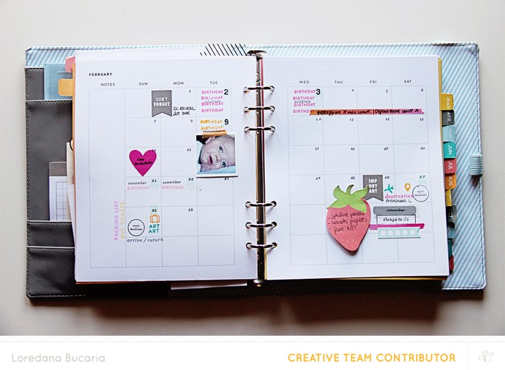 Planner february original