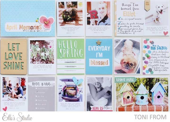 Aprilmemoriesprojectlife